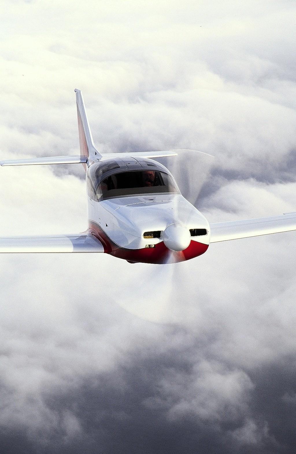 Glasair RG Above Clouds