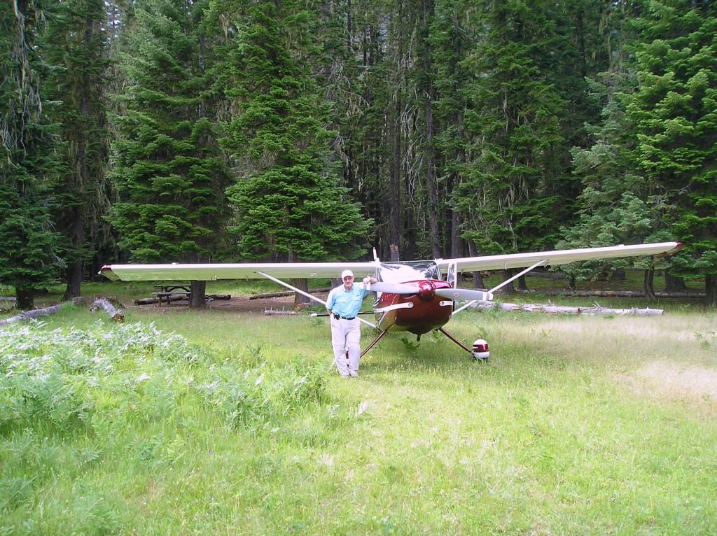 Alan and N2CQ Moose Creek, ID June, 2007